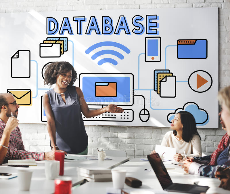 Data Database Analysis System Information Concept stock images