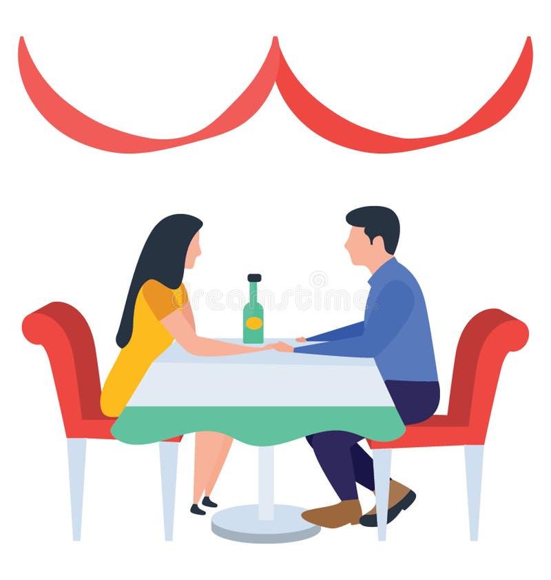 Data delle coppie royalty illustrazione gratis