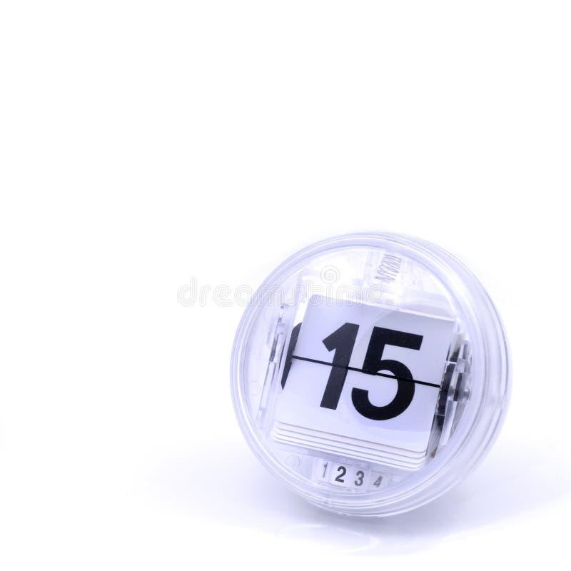 Data di calendario fotografia stock