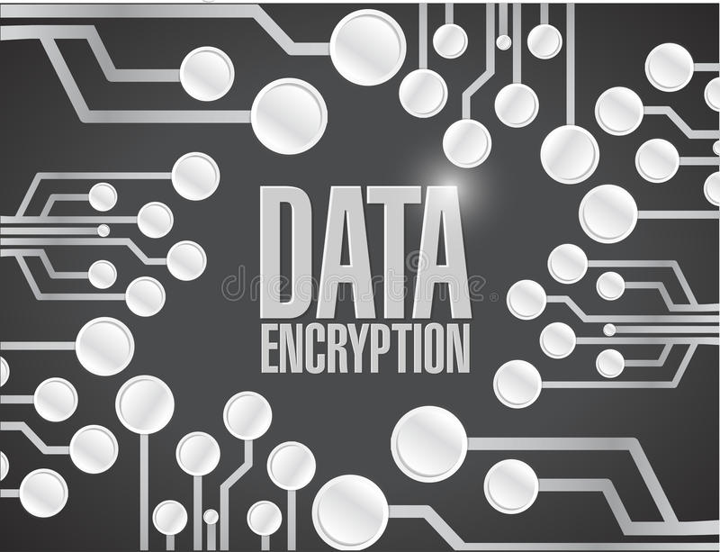 Download Data Encryption Circuit Board Illustration Design Stock Illustration - Illustration of database, circuit: 39508884