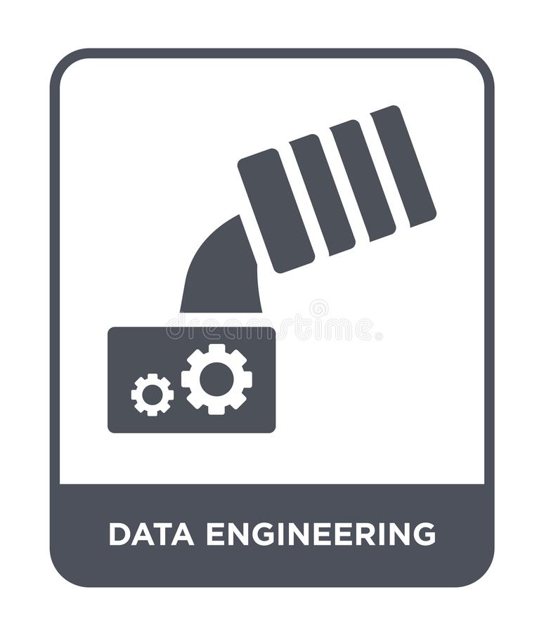 data engineering icon in trendy design style. data engineering icon isolated on white background. data engineering vector icon royalty free illustration