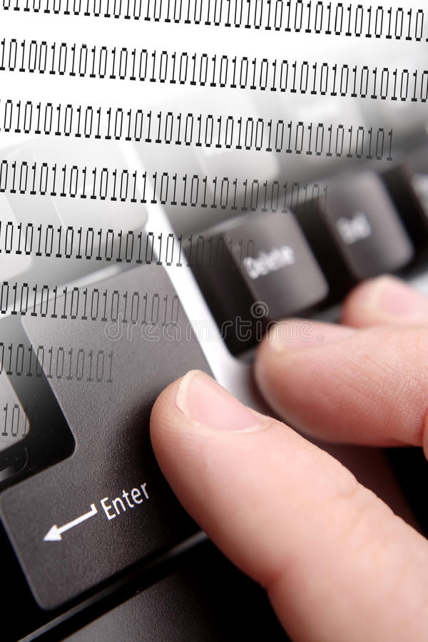 Data entry stock images