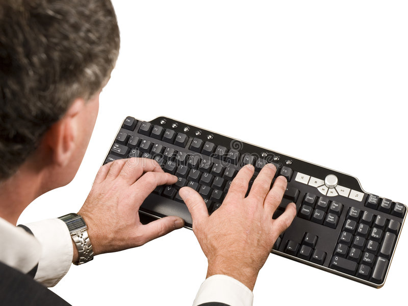 Data Entry royalty free stock photo