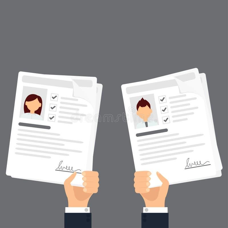 Data för personlig information royaltyfri illustrationer