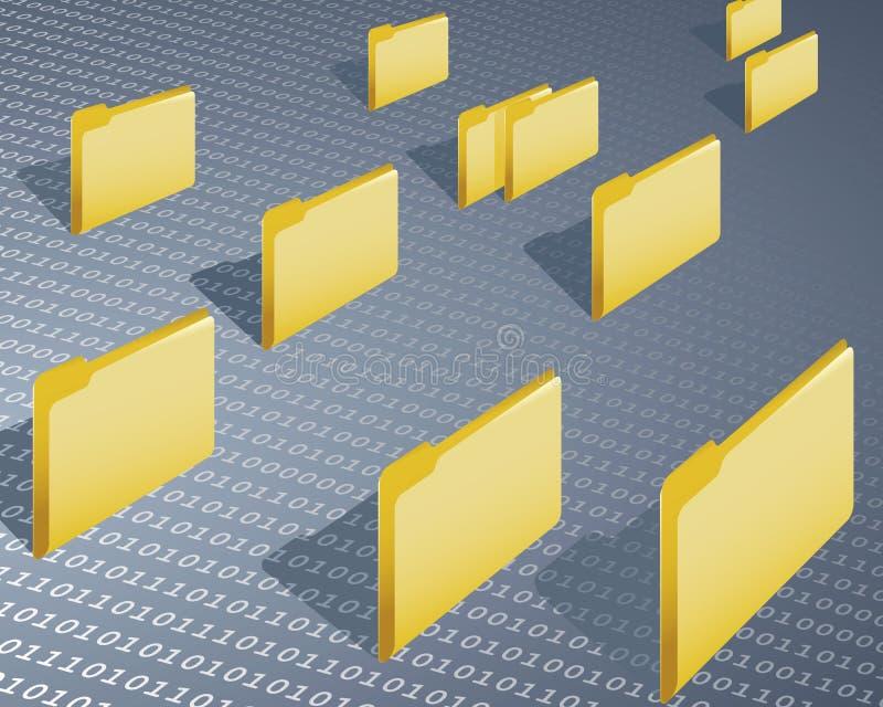 Data Folder Stock Image