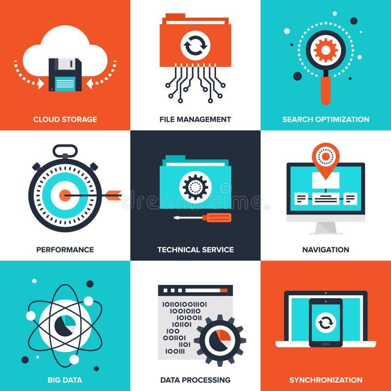 Data Management royalty free illustration