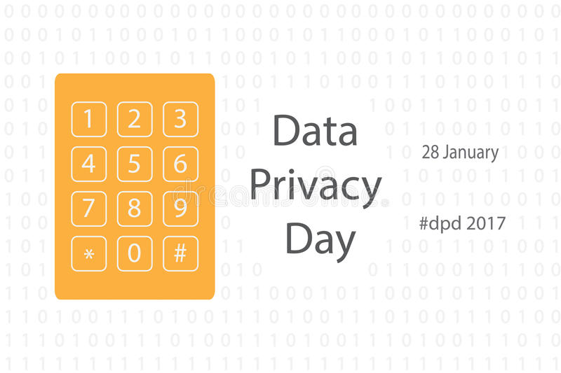 Download Data Privacy Day Stock Vector - Image: 83713885