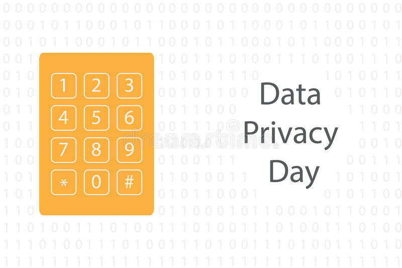 Download Data Privacy Day Stock Vector - Image: 83714877