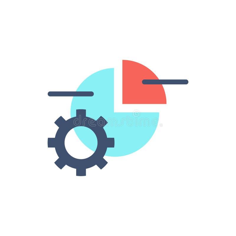 Data Processing Vector Icon. stock illustration