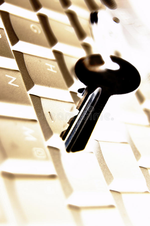 Download Data protection stock image. Image of keyboard, hand - 13684277