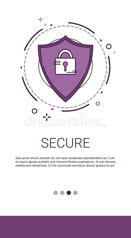 Data Protection Privacy Internet Information Network Security stock illustration
