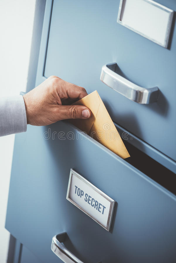 Data protection and storage royalty free stock images