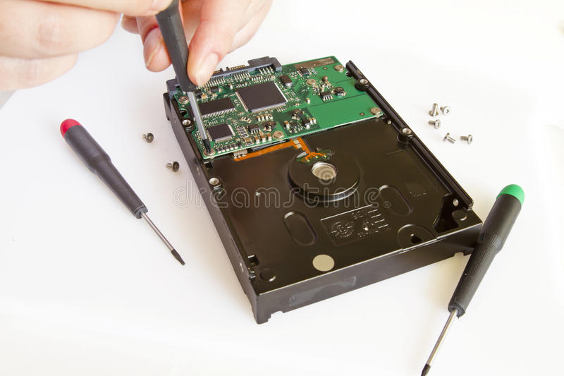 Download Data recovery stock image. Image of scrutiny, storage - 24298043