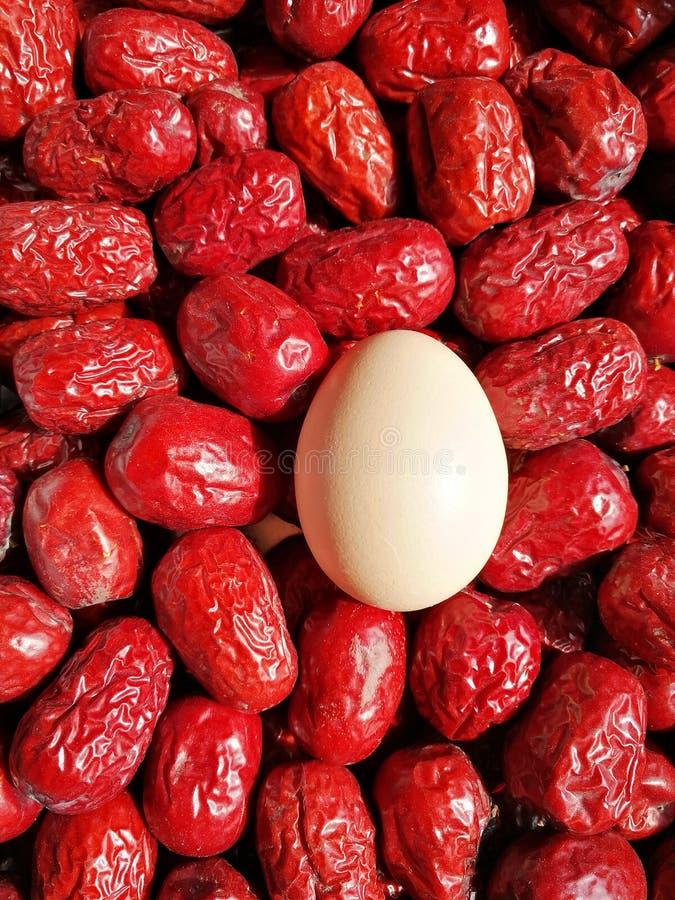 Data rossa - frutta della giuggiola fotografie stock