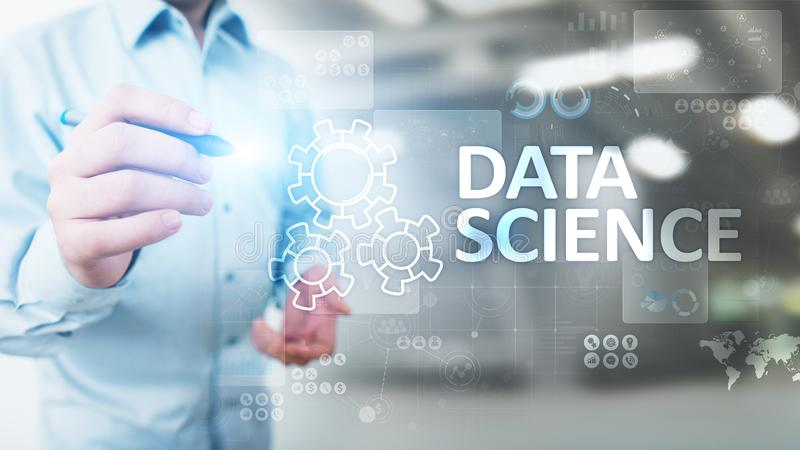 Data science and deep learning. Artificial intelligence, Analysis. Internet and modern technology concept. Data science and deep learning. Artificial stock photos
