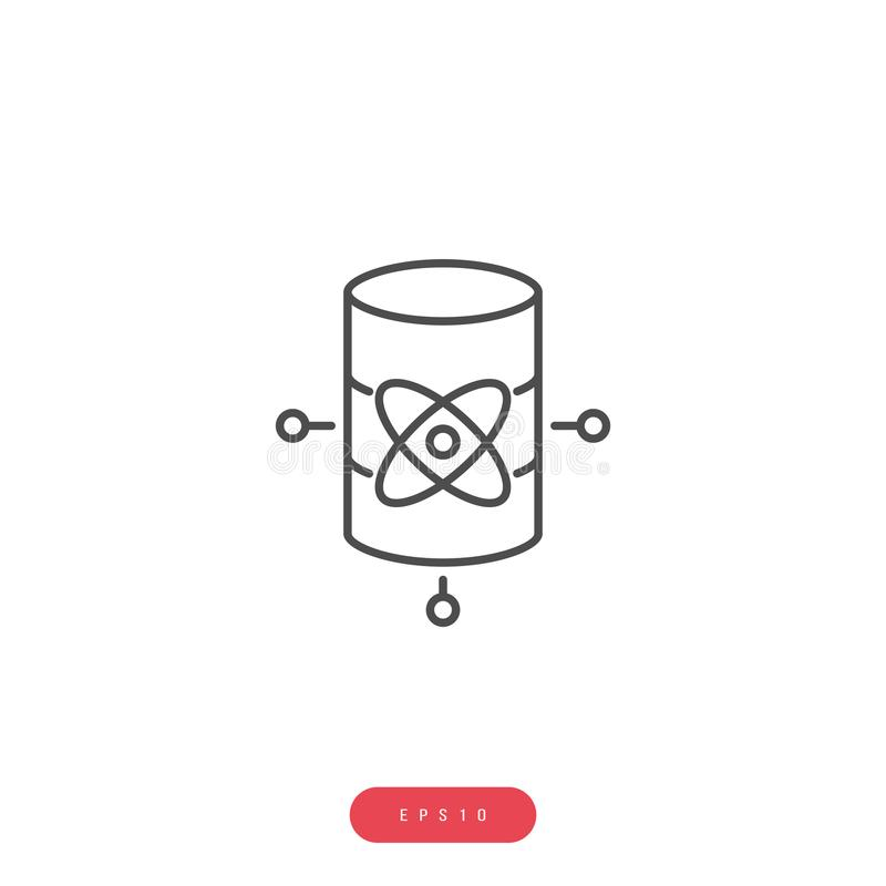 Data science Vector Icon Business Management Related Vector Line Icon. Editable Stroke. 1000x1000 Pixel Perfect royalty free illustration