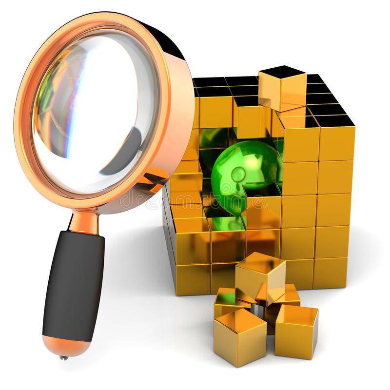 Download Data Search. I Have Found It! Stock Illustration - Image: 16067708