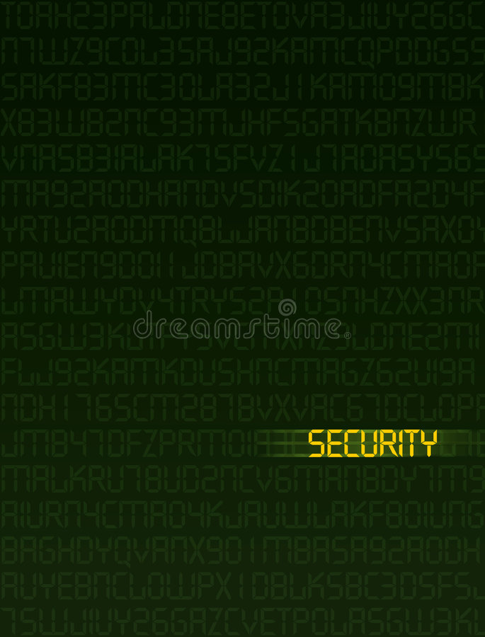 Data Security vector illustration