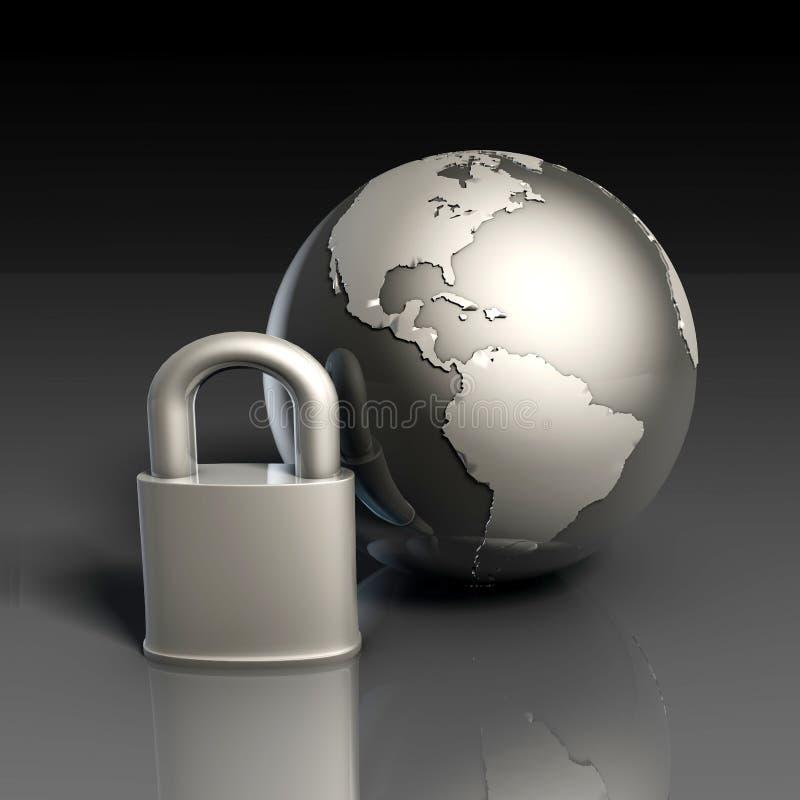 Data Security vector illustration