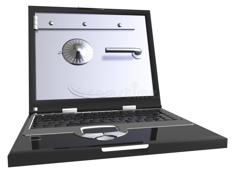Data Security. Digital Illustration of Data Security stock illustration