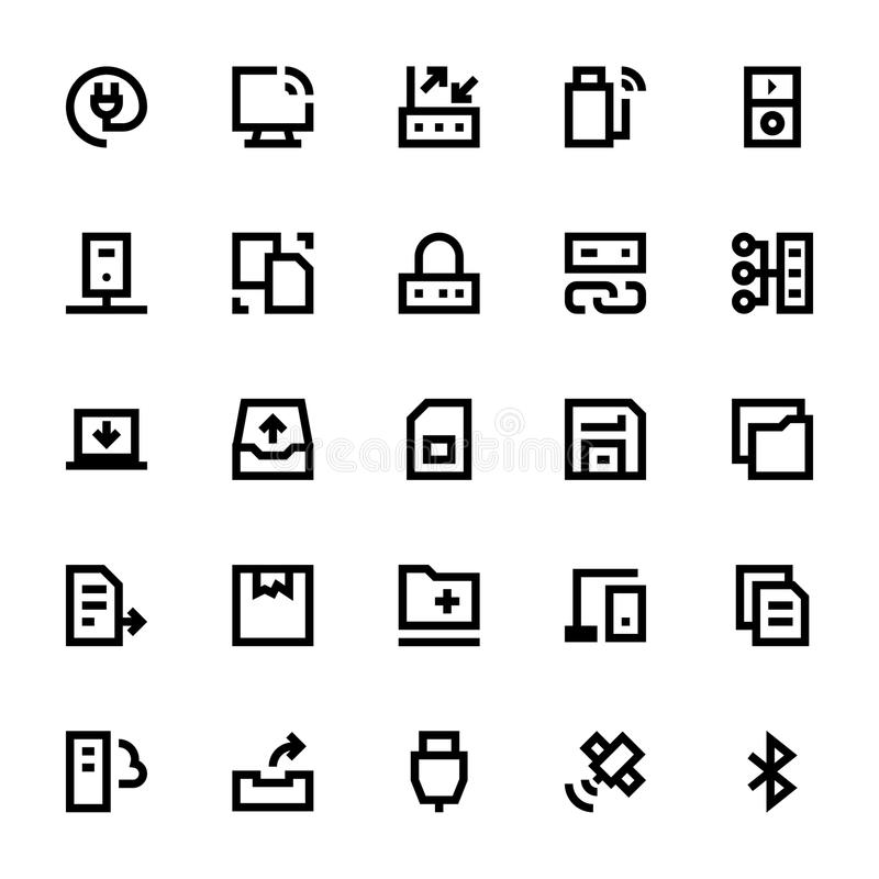 Data Storage, Server and Transfer 3. We are honored to present to you a set of Data Storage, Server and Transfer icons that are simple, useful and optimal for vector illustration