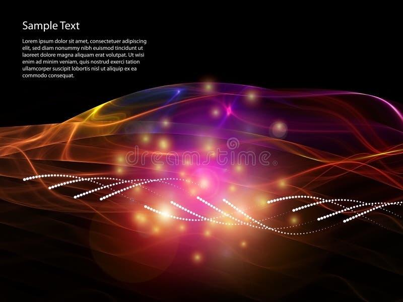 Download Data Transfer stock illustration. Image of backdrop, wave - 20834368
