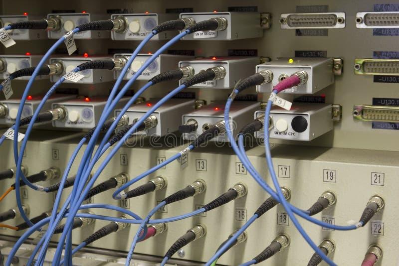 Data transfer by optical fibre