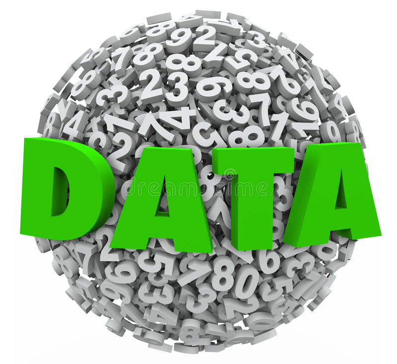 Free Data Word Number Sphere Research Results Information Evidence Royalty Free Stock Images - 31512719