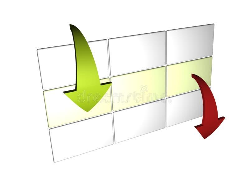 dataadministration royaltyfri illustrationer