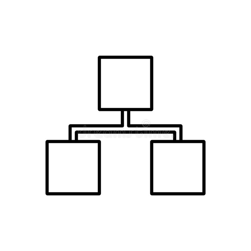 Databas server, lagringssymbol - vektor Databasvektorsymbol stock illustrationer