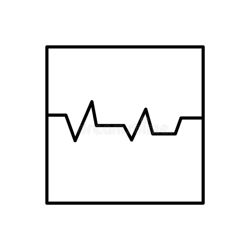 Databas server, semissymbol - vektor Databasvektorsymbol stock illustrationer