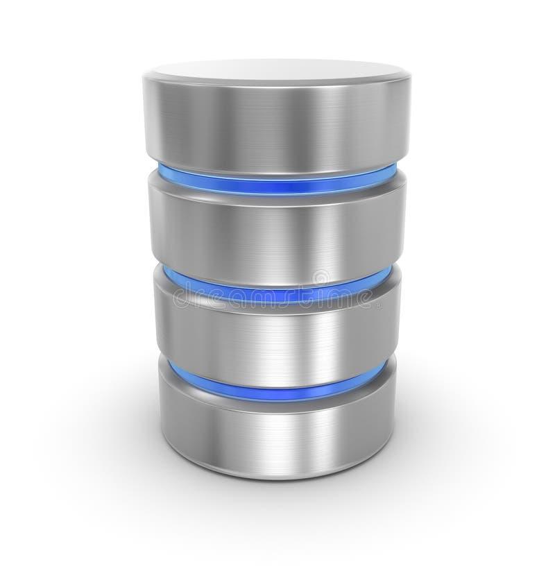 database ilustração do vetor