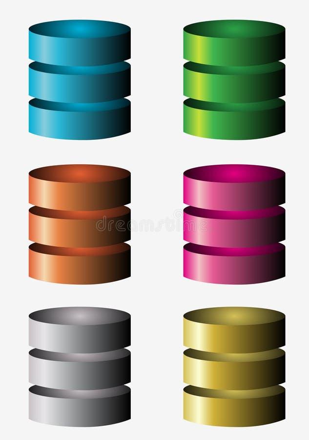 Free Database Icons Stock Photos - 35181623