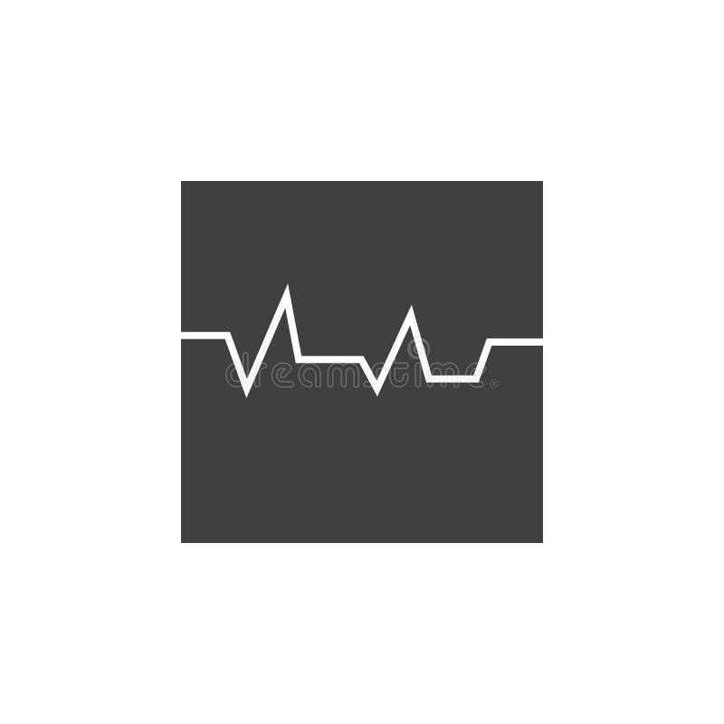 Database, server, semis vectorpictogram Element van gegevens voor mobiele concept en webtoepassingenillustratie Dun lijnpictogram stock illustratie