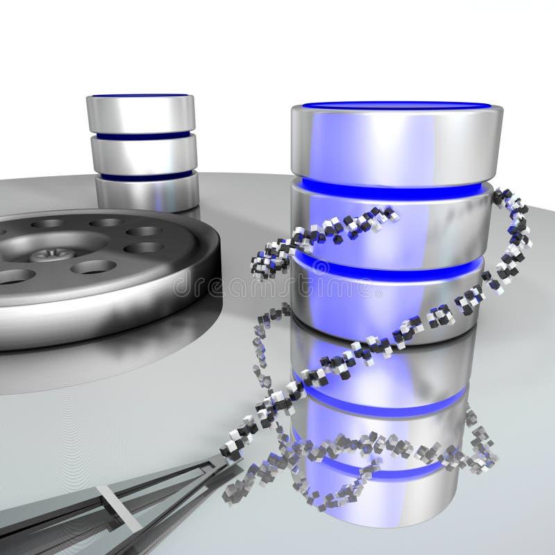 Download Database storage stock illustration. Illustration of relational - 17577729