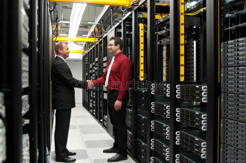 Download Datacenter deal stock image. Image of marketing, discussion - 26502693