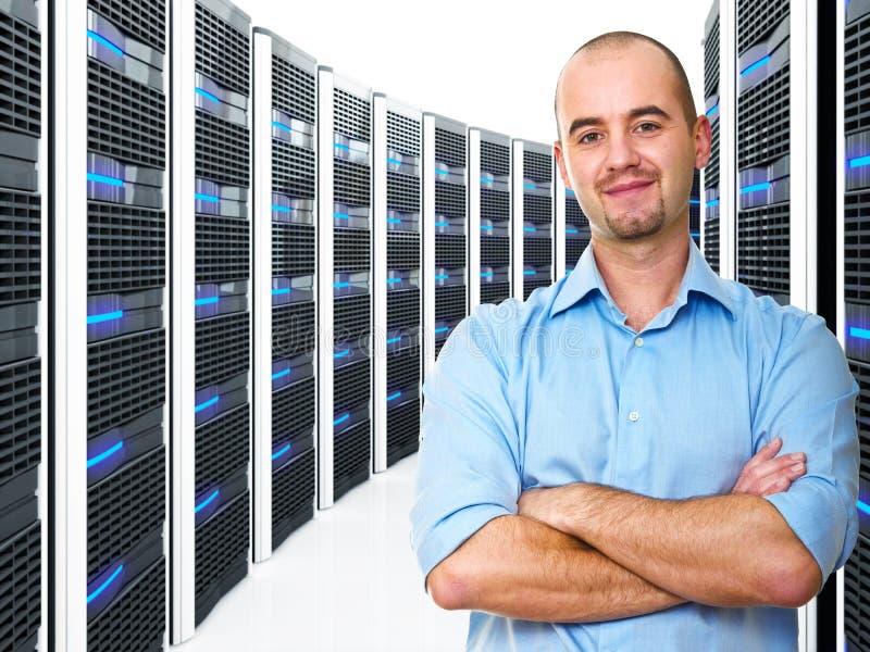 datacenter mężczyzna