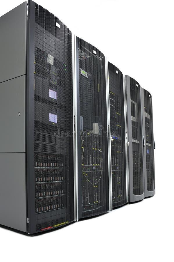 datacenter stojaki zdjęcia stock