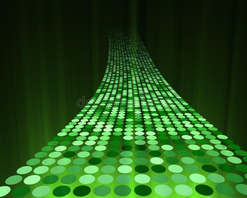 datahuvudväg vektor illustrationer