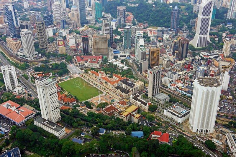 Download Dataran Merdeka Kuala Lumpur Skyline Aerial View Editorial Image - Image: 33862345