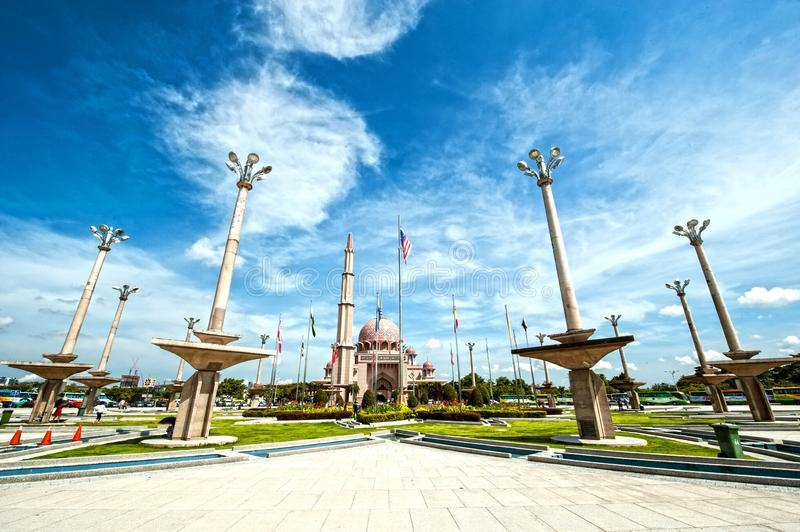 DATARAN PUTRA PUTRA SQUARE DATARAN PUTRA PUTRA SQUARE - PUTRAJAYA. Dataran Putra or Putra Square is located opposite Perdana Putra. It is the venue of national stock images