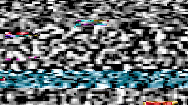 Datatekniskt fel som strömmar datafel 11034 royaltyfri bild