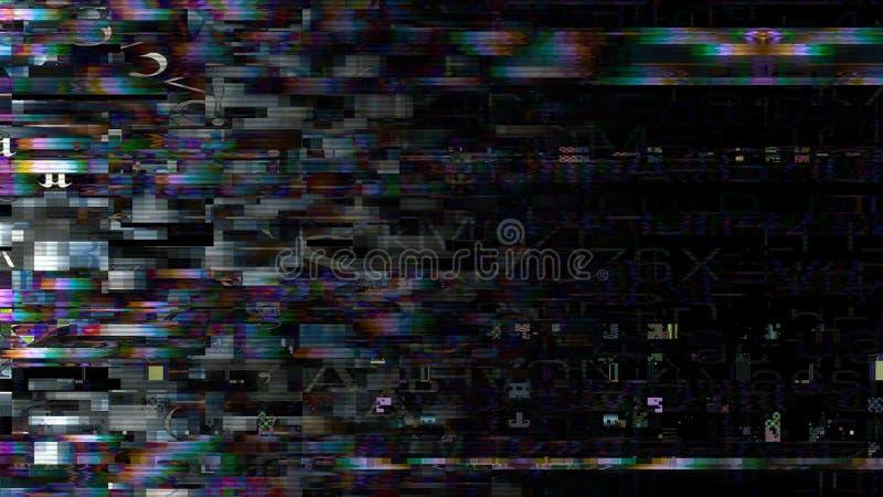 Datatekniskt fel som strömmar datafel 11037 arkivfoto