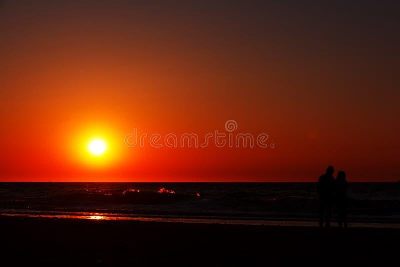 Ensemble romantique de Sun photos libres de droits