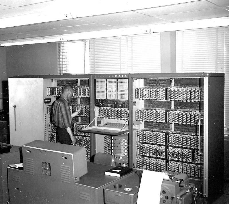 Datatron-205 Computer royalty free stock photo