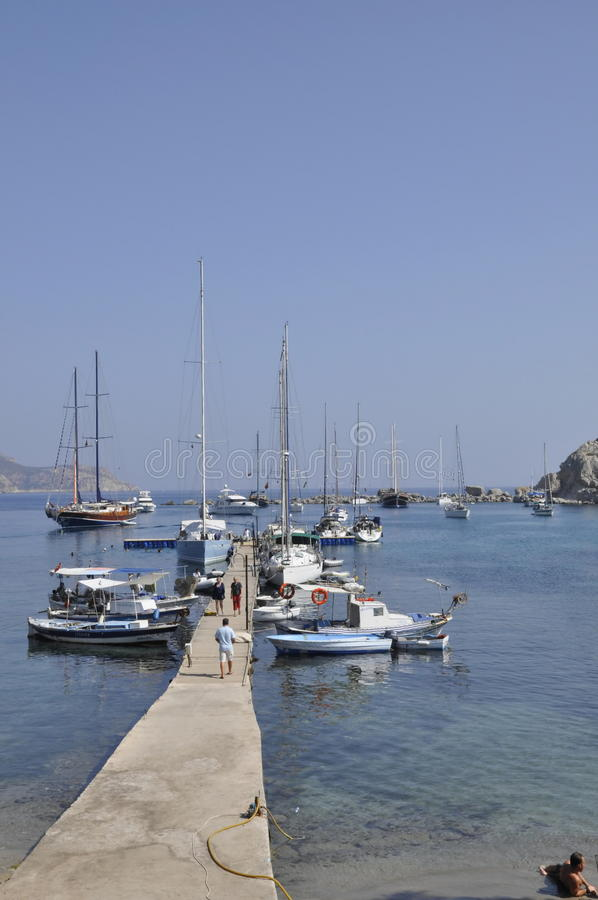 Download Datca harbor stock photo. Image of coastal, vessels, ships - 15744382