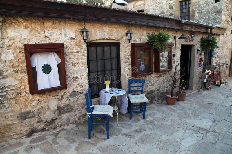 Old Datca street royalty free stock photography