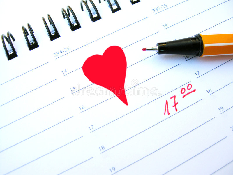 Date Royalty Free Stock Images