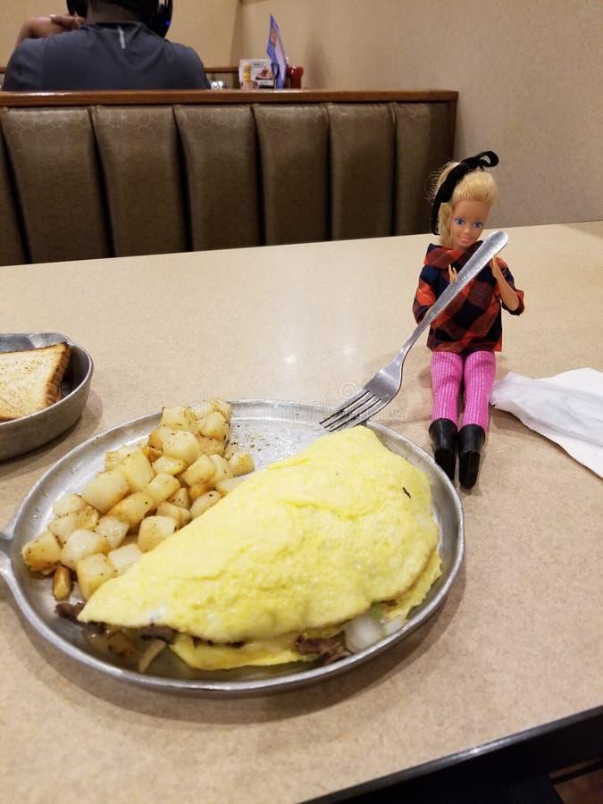 Date de dîner avec barbie en Carlisle Pennsylvania photo libre de droits