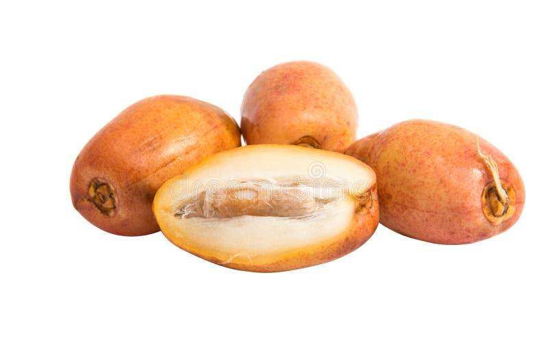 Date della frutta fresca immagine stock